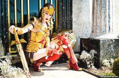 Character: Wonder Woman (Regime) / From: Warner Bros. Interactive Entertainment's 'Injustice: Gods Among Us' Video Game / Cosplayer: Karen Cechin (aka Lockheart18, aka Karen Cosplay)