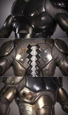 Jaeger Pilot Suit Details #pacificrim