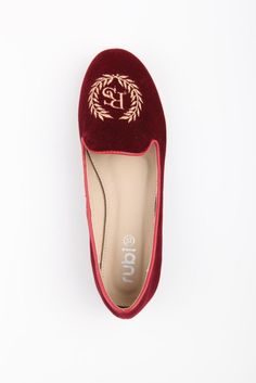 Love these Emmy Embroidered Slippers from Rubi for only $29.95, I would wear them with a pair of crisp blue skinnies and a fab blazer and you will have your chic day look.