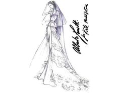 If It's Hip, It's Here (Archives): 29 Famous Fashion Designers Sketch Wedding Gowns For Kate Middleton.