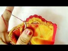 New type of krosha flower petal design // Nandana Creations // - YouTube Saree Tassels Designs, Saree Kuchu Designs, Design Art Drawing, Chrochet, Flower Petals, Diy Clothes, Crochet Earrings, Women's Fashion, Type