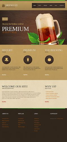 Design chews time... Get Template Espresso! That's Joomla #template // Regular price: $68 // Unique price: $4500 // Sources available: .PSD, .PHP #Joomla #Tablet #Smartphone #Responsive #Drink #Brewery