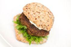 veggisburver veganburger soppburger vegetarburger oppskrift