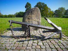 Gorck-Fock-Gedenkstein,Finkenwerder. Gorch Fock, eigentlich Johann Wilhelm Kinau, wurde 1880 in Finkenwerder geboren und starb 1916 am Skagerrak.