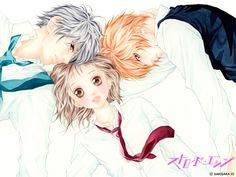 Strobe Edge by Io Sakisaka. I just read this again, I think its the fourth time... BUT ITS SO CUTE ;)