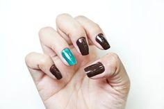 Unha filha única: o esmalte marrom cremoso é um hit do Inverno 2012 e ganha destaque ao lado dos tons de verde http://uol.com/bmcwJW