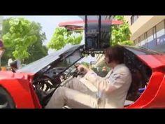 Der langsamste Sportwagen der Welt - gebaut vom österreichischen Künstler Hannes Langeder.