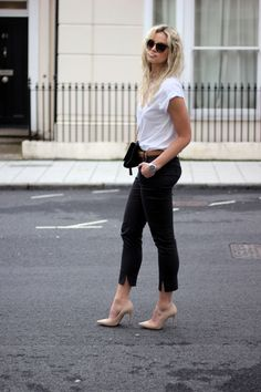 The best way to create a casual chic look