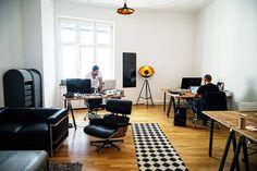 Studio Stern の モダンな 勉強部屋&オフィス App & Online Marketing Agentur aus Berlin