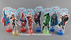 Tubete 3d Os Vingadores por apenas R$ 1,15