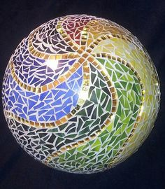 mosaic garden gazing balls   Mosaic balls [group] most recent on FlickeFlu