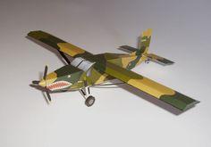 [USAF] fairchild AU-23A peacemaker