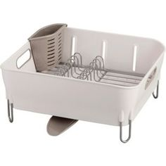 Buy simplehuman Compact Dish Rack - White at Argos.co.uk - Your Online Shop for Dish racks and mats.