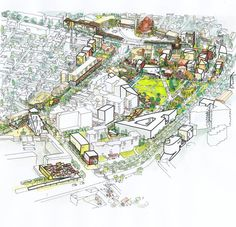 Masterplan Korça City Centre / Bolles + Wilson