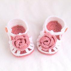 Chaussures de bébé sandales de bébé au Crochet chaussons