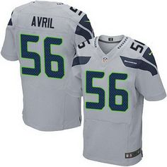 Cheap NFL Jerseys Wholesale - Nike Seahawks #56 Cliff Avril Green Men's Stitched NFL Limited ...