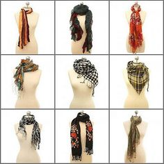 Last week I shared with you a bunch of inspirational fall outfits, most of which included scarves. Since some of you might not know how to rock a scarf, this week I'm passing along a free printable for you (found via Pinterest) that might help! Print it out, hang it in your closet, consult the diagram, and fear scarves no more! Enjoy!