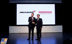 Officieel: McLaren vanaf 2015 met Honda-motoren