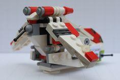 "LEGO IDEAS - Product Ideas - Lego® Star Wars™ Mini Republic Gunship - Nexu ""Bad Kitty"" Bad Cats, Bad Kitty, Republic Gunship, Lego Star Wars Mini, Lego Guns, Lego Building, Building Ideas, Lego Mechs, Cool Lego Creations"
