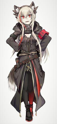 Manga Anime Girl, Anime Art, Guerra Anime, Anime Ninja, Mod Girl, Anime Military, Waifu Material, Anime Furry, Girls Frontline