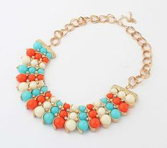 Acrylic Necklace, jewelry making  http://www.beads.us/product/Acrylic-Necklace_p112314.html