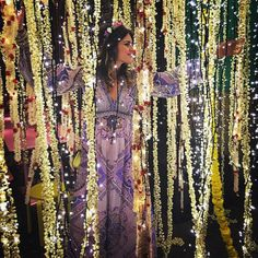 """Noor Fares's  """" One thousand and one nights"""" pre-wedding themed party in Normandy."""