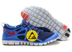 low priced d890d 893da Femmes Nike Free 3.0 V3 De Course Obsidienne Royal Team Orang Chaussures  Nike Store, Red
