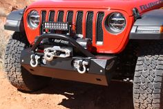 Rock Hard Stubby Winch Guard with Light Mounting Tabs for and 90202 Front Bumper Jeep Jl, Wrangler Jl, Installation Manual, Jeep Accessories, Monster Trucks, Rock, Locks, Rock Music