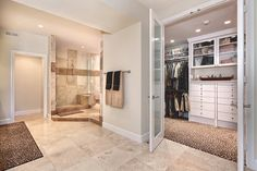 love the bathroom and the walkin in closet