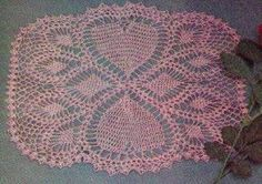 Pink Hearts Doily http://www.momsloveofcrochet.com/PinkHeartsDoily.html