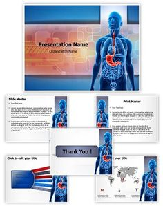 Neuron powerpoint template is one of the best powerpoint templates human stomach powerpoint presentation template is one of the best medical toneelgroepblik Gallery
