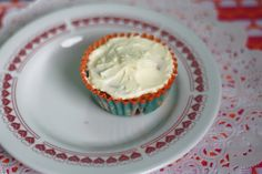 Chocolade & blauwe bessencupcake | Allihoppa