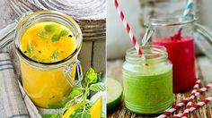Seks sunne smoothies som frisker opp dagen