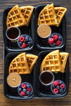 Protein Waffles 18 Meal Prep Recipes For Beginners That Take 30 Minute. - Protein Waffles 18 Meal Prep Recipes For Beginners That Take 30 Minutes Or Less - Lunch Meal Prep, Meal Prep Bowls, Healthy Meal Prep, Healthy Drinks, Healthy Snacks, Healthy Recipes, Protein Recipes, Fitness Meal Prep, Meal Prep Containers