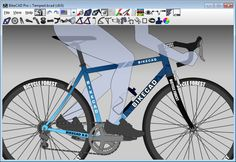 BikeCAD Pro is a parametric bicycle design and fitting tool for Mac, Linux, and PC.
