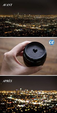 47 Genius Camera Hacks That Will Greatly Improve Your Photography Skills In Less Than 3 Minutes - Cut Out A Heart Shape In A Cardboard For A Heart-Shaped Bokeh