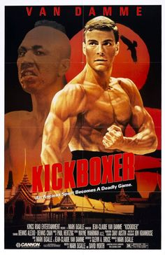Kickboxer is a 1989 American martial arts sports drama film written, produced and directed by Mark DiSalle, and also directed by David Worth, and starring Jean-Claude Van Damme and former world kickboxing champion, Dennis Alexio. Streaming Movies, Hd Movies, Movies Online, Movie Tv, Watch Movies, Movie Theater, Chuck Norris, Mike Tyson, Hot Shots 2