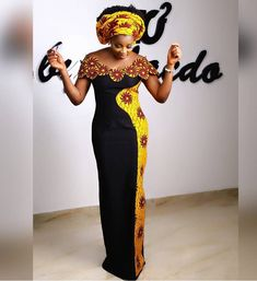 Get Your Ankara Goals Right With These Stylish And Fashionable Ankara Styles - Wedding Digest Naija African American Fashion, Latest African Fashion Dresses, African Print Fashion, Africa Fashion, Ankara Dress Styles, African Print Dresses, African Dress, African Attire, African Wear