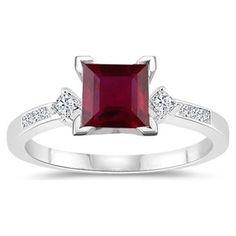 Ruby ring :) my birthstone