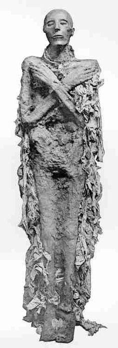 Mummy of Seti I  Egypt