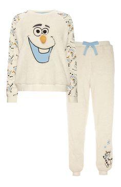 Pijama polar con estampado de Frozen                                                                                                                                                      Más