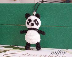 Panda #macrame