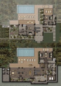 Mandarin Oriental Bodrum, Villas for sale in Bodrum, Turkey Beach House Floor Plans, Sims House Plans, Home Design Floor Plans, Dream House Plans, Modern House Plans, Small House Plans, Pool House Plans, Dream House Exterior, Bungalow House Design