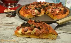 Pizza alta e soffice, pane e lievitati