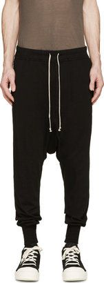 Rick Owens Drkshdw Black Prisoner Lounge Pants