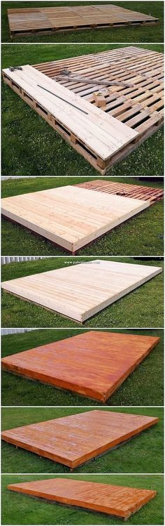 Backyard Patio Designs, Backyard Projects, Outdoor Projects, Garden Projects, Backyard Landscaping, Pallet Projects, Pergola Designs, Diy Pallet, Pallet Patio