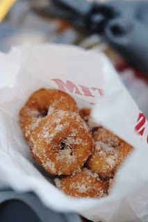 Mini donuts from tiny Tim's at the Minnesota state fair, proud to be a Minnesotan