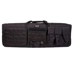 42 Inch Black 3 Airsoft Gun Carrying Case with Mat