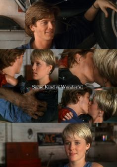 Best kiss of ANY movie...ever!!!! Some Kind of Wonderful