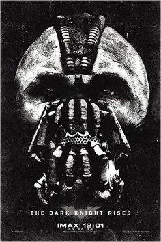 The Dark Knight Rises : affiche Christopher Nolan